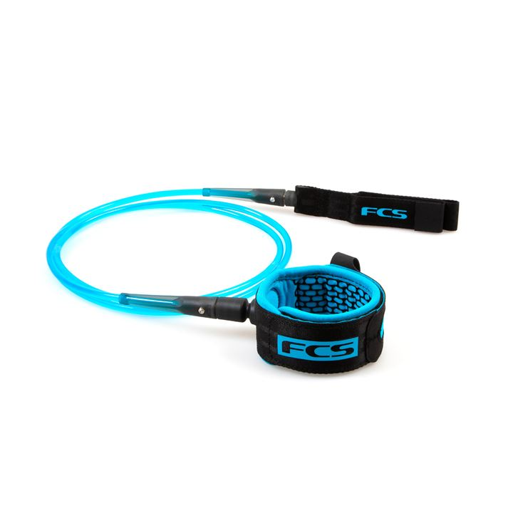 FCS 8' All Round Essential Leash Blue/Black