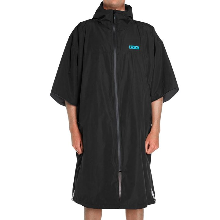 FCS Shelter All Weather Poncho Black MD